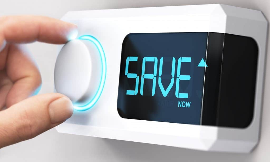 "stock image thermostat ""save"""