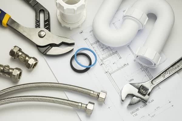 stock image tools and fittings